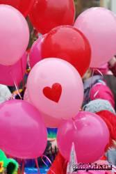 Liebesmotive mit Herz